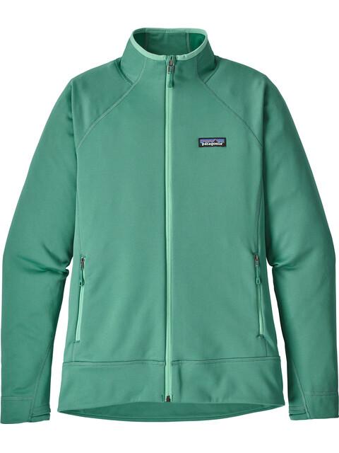 Patagonia W's Crosstrek Fleece Jacket Beryl Green